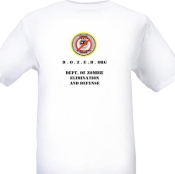 """Zombie Threat Elimination Squad"" Mens Short Sleeve T-Shirt"