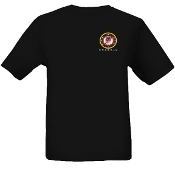 """D.O.Z.E.D"" Pocket Seal Men's Short Sleeve T-Shirt - Black"